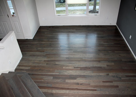 Classic Hardwood Floors stained hickory flooring classic hardwood floors missoula montana Stained Hickory Flooring Classic Hardwood Floors Missoula Montana
