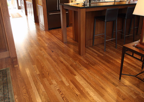 Stained White Oak, Classic Hardwood Floors, Missoula, Montana - Classic Hardwood Floors