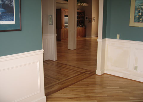 Wood flooring installation or repair estimate classic for Hardwood floor estimate