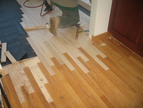 Sanding and refinishing wood floors missoula for Hardwood floor repair